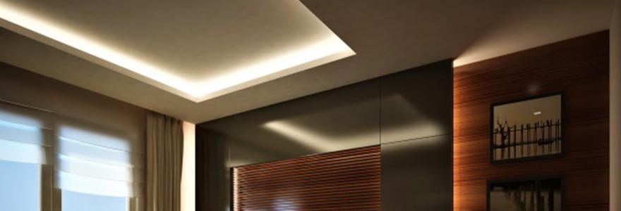 ruban LED chambre